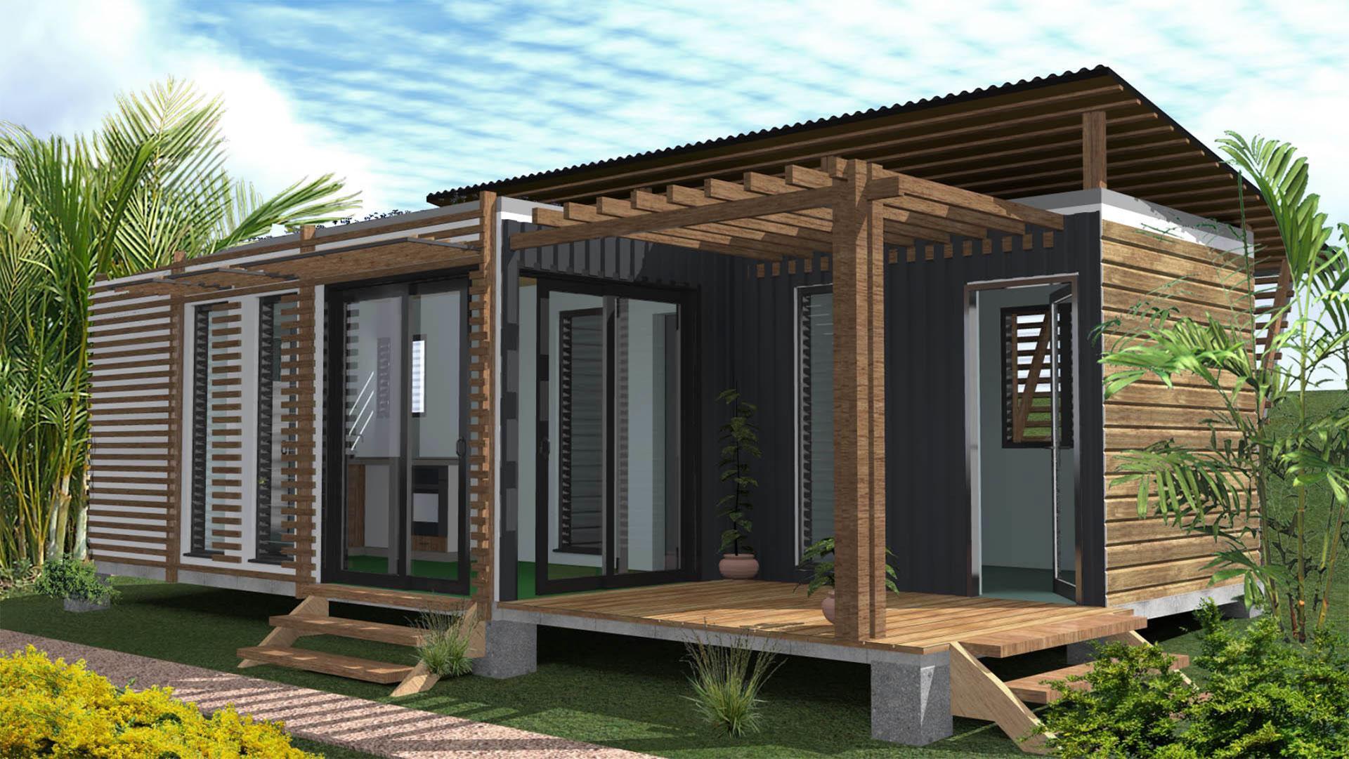 Transformer Container En Maison concernant case container – maison en container à la réunion