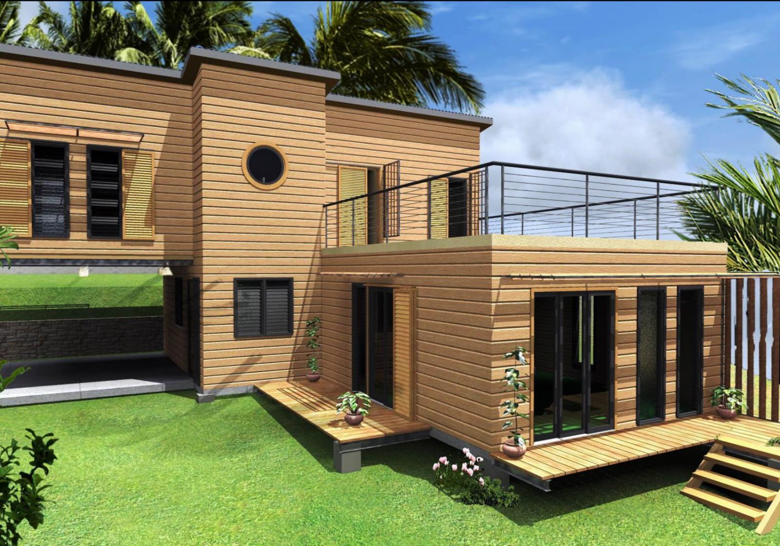 Modeles et plans de maison a la reunion 97410